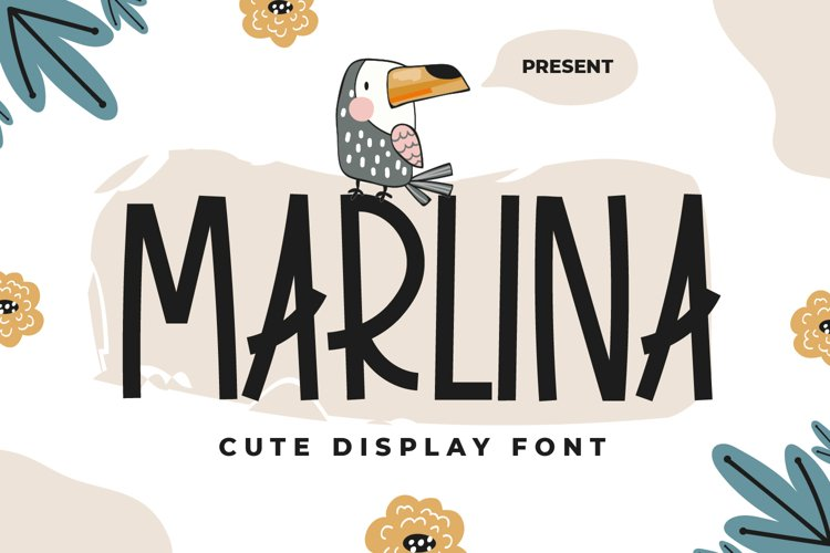 Marlina - Cute Display Font example image 1