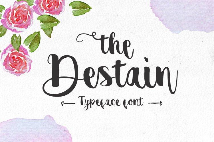 Destain