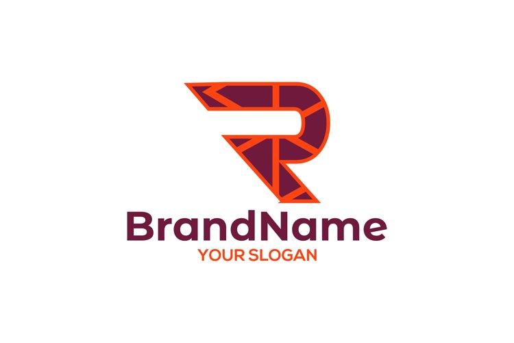 Abstract R Logo Design Vector