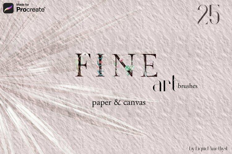Procreate Fine Art Paper brushes