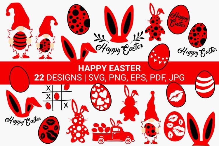 Happy Easter SVG Bundle