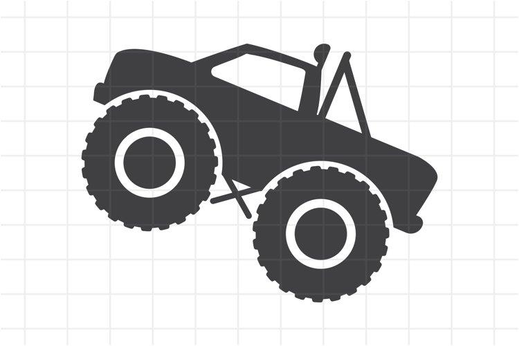 Bigfoot monster truck SVG and PNG cut file fot Cricut