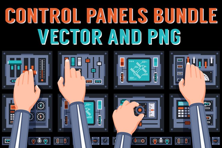 Control Panels Spaceship example image 1