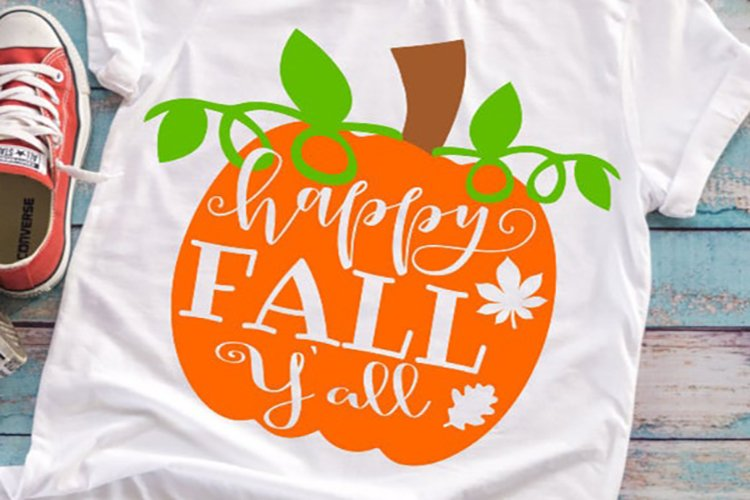 Fall svg , Pumpkin svg, Halloween svg , Halloween shirt SVG example image 1