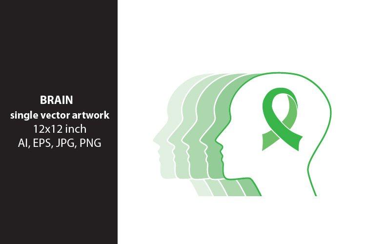 brain ribbon, vector