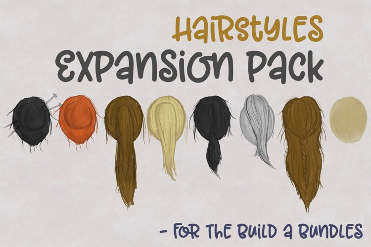 HairStyles | Expansion Pack for Build Bundles