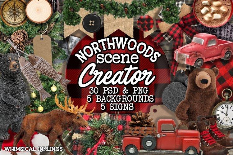 Northwoods Scene Creator example image 1