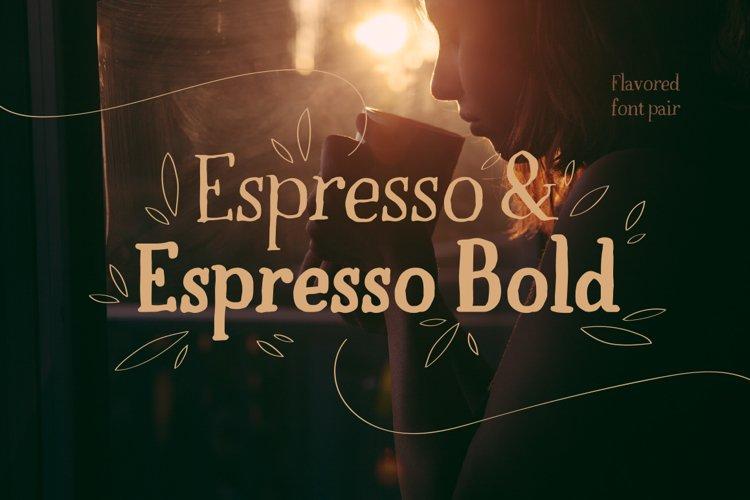 Espresso & Espresso Bold example image 1