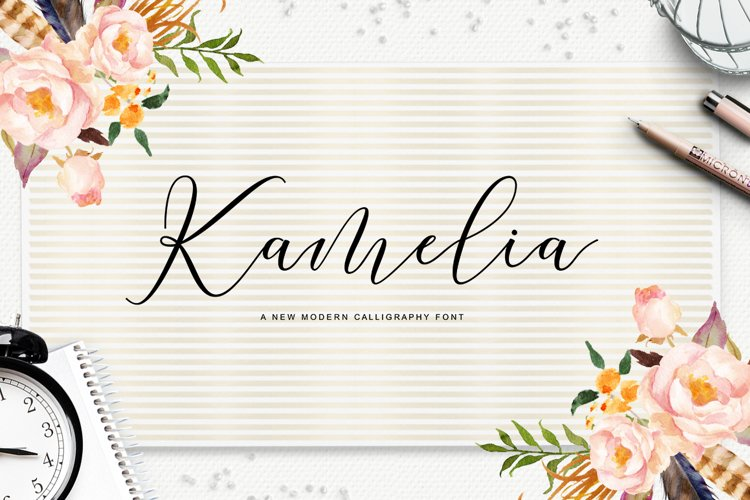 Kamelia Script example image 1