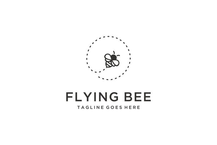 fly bee logo example image 1