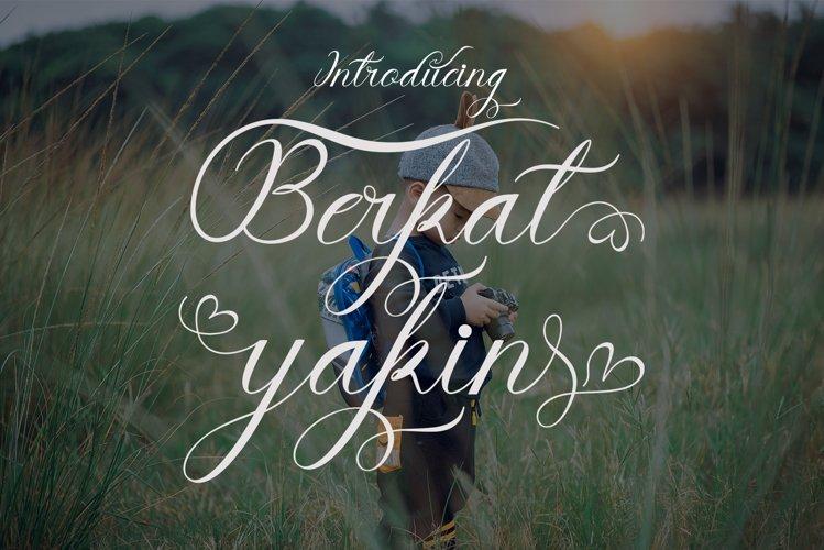 Berkat Yakin example image 1