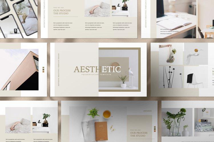Aesthetic Brand Google Slide