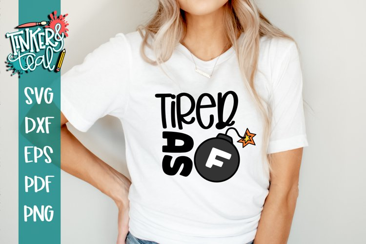 Swear Mom svg / Funny svg / Sarcastic SVG example image 1