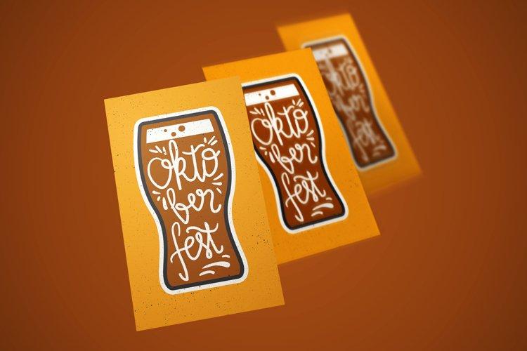 Oktoberfest Lettering example image 1