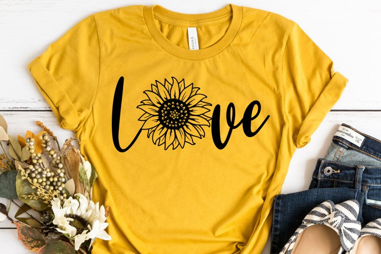 Sunflower SVG Cut File - Sunflower SVG example image 1