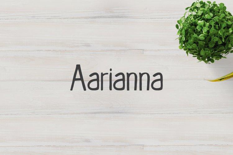 Aarianna Handmade Brush Font Family example image 1