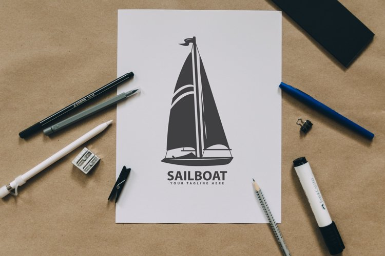 sailboat silhouette example image 1
