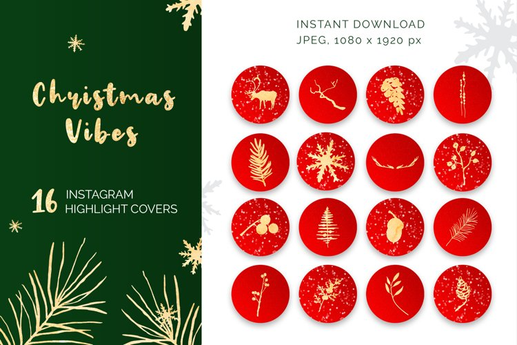Christmas Vibes Instagram Highlights example image 1