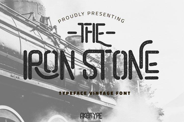 The Iron Stone example image 1