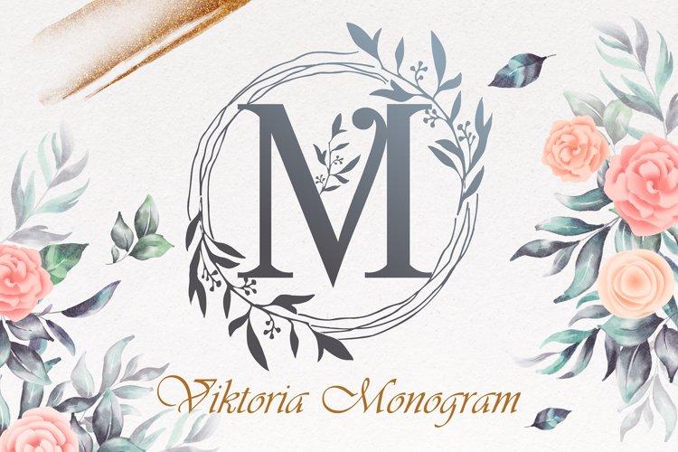 Viktoria Monogram example image 1