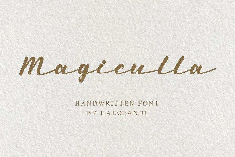 Magiculla example image 1