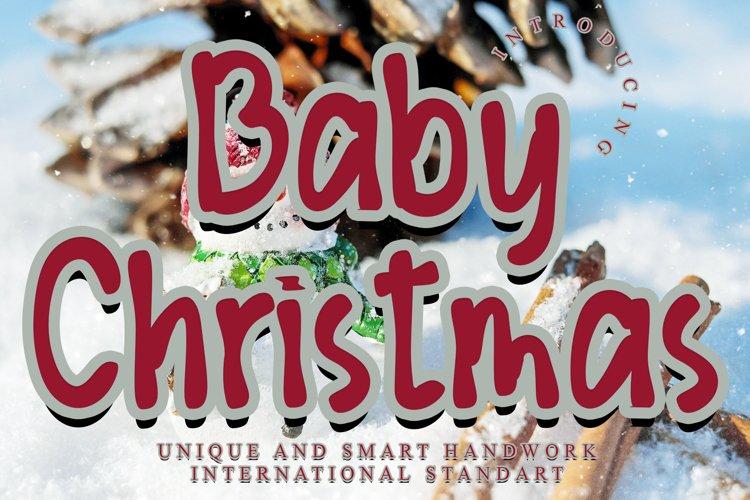 Baby Christmas example image 1