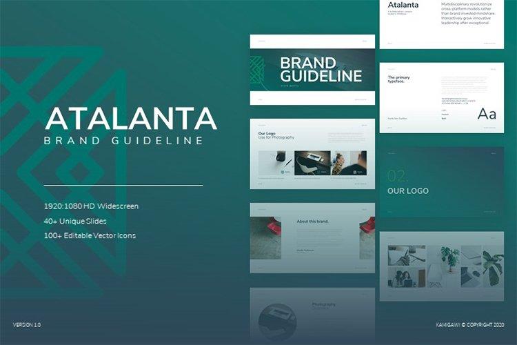 Atalanta Brand Guideline example image 1