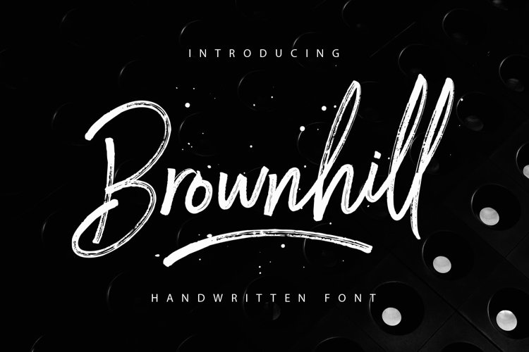 Brownhill Script example image 1