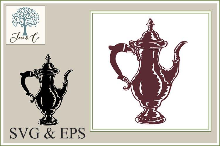 Classic Silver Coffee Pot