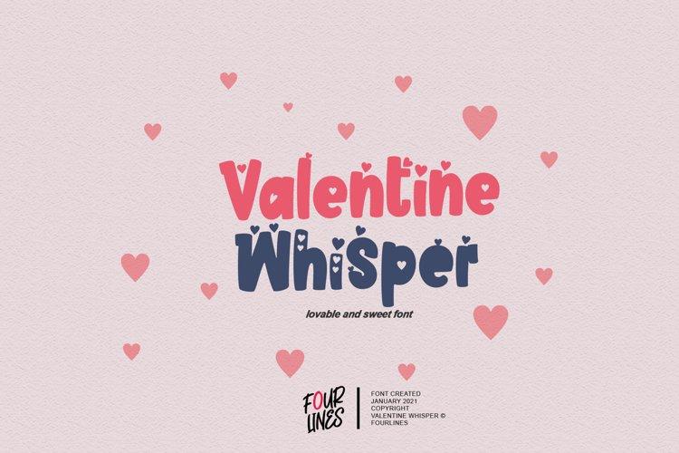 Valentine Whisper example image 1