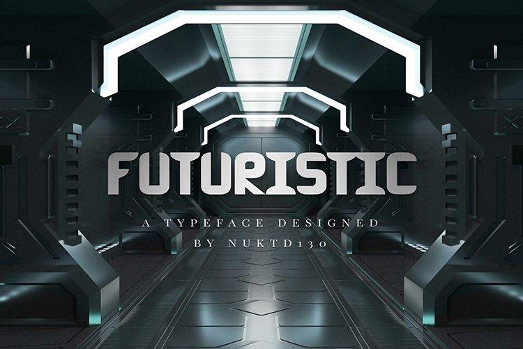 Futuristic Font example image 1