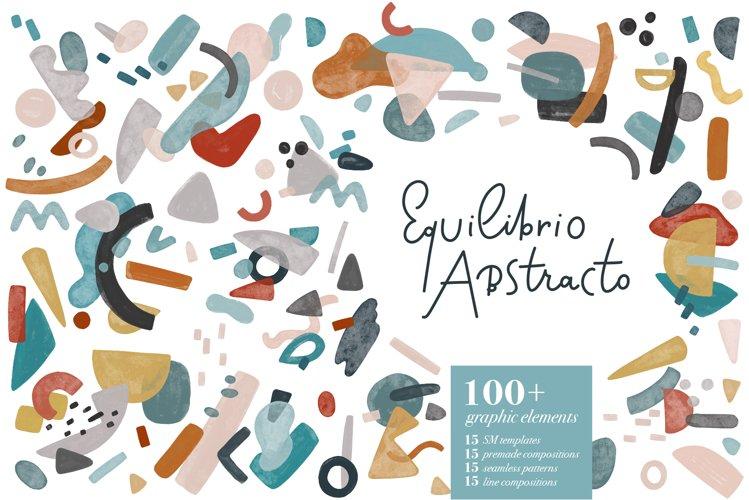 Equilibrio Abstracto, Big graphic set