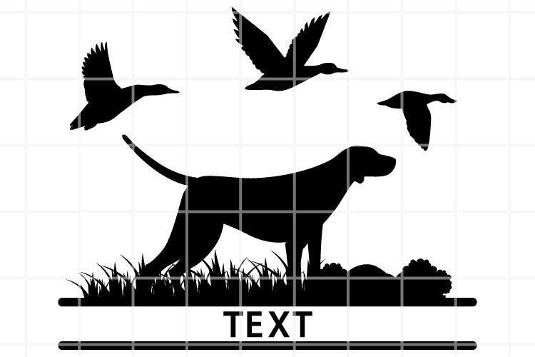 Duck hunting SVG. Wildlife cut file. Hunting cutting set.