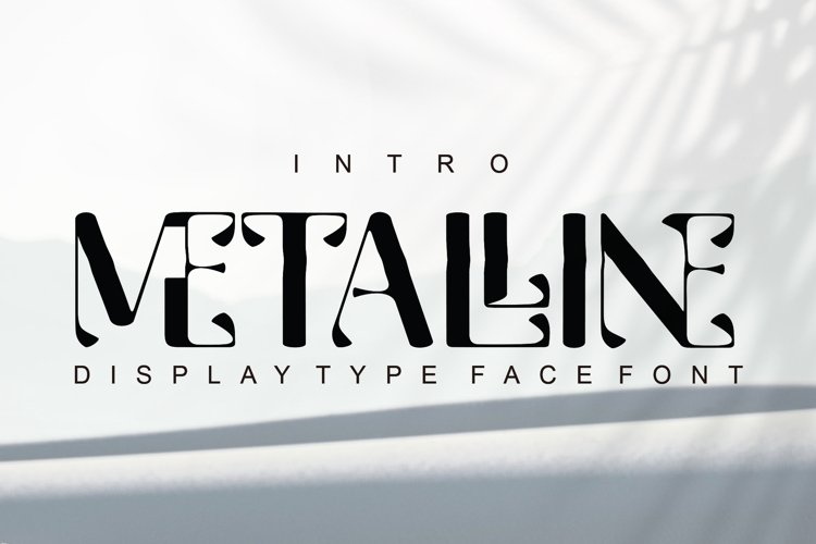 Metalline - Typeface