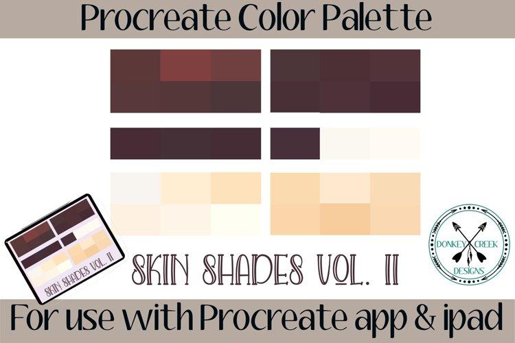 Skin Tones Vol II Procreate Color Palette example image 1