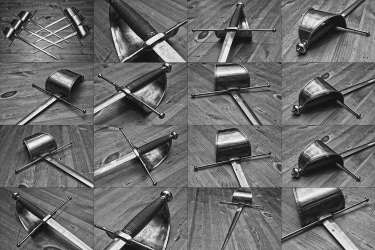 17 files - Renaissance Spanish dagger bundle example image 1