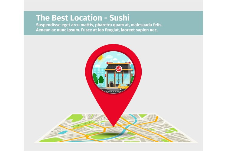 The best location sushi example image 1