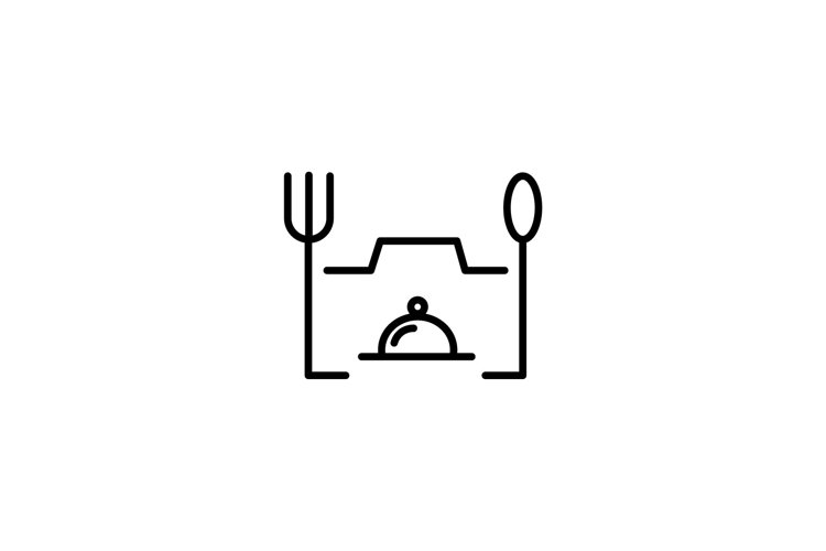 food photography logo vector illustration example image 1
