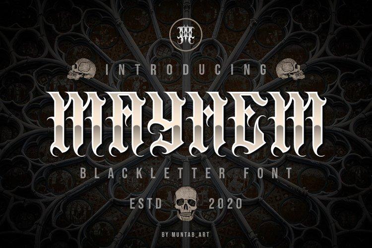 Mayhem example image 1
