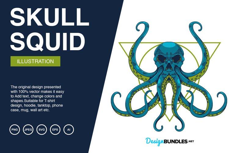 Squid Skull Illustrations