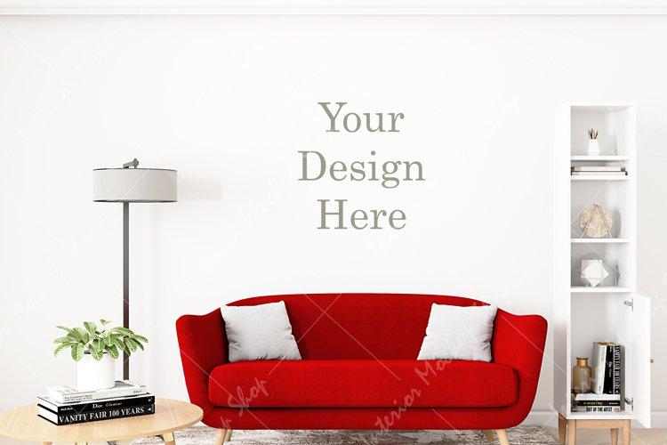 Frame mockup, Poster Mockup, Mockup in interior \289 example image 1