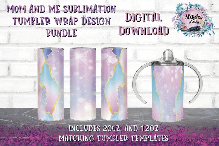 20oz| 12oz| Skinny Tumbler | Sublimation |Design Bundle example image 1