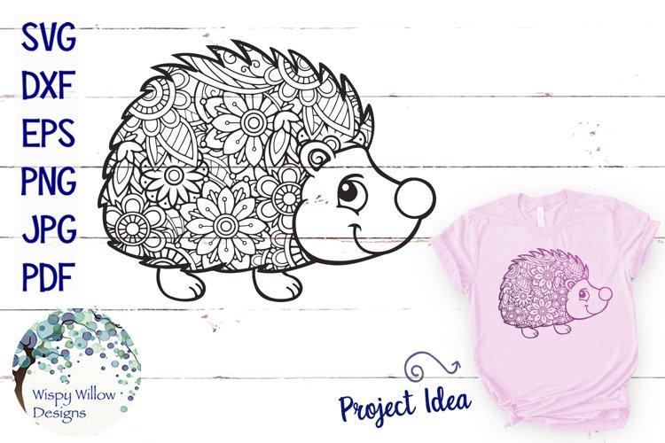 Hedgehog Zentangle SVG - Free Design of The Week Font