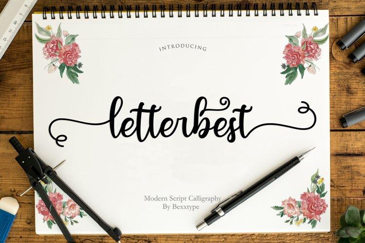 letterbest Script example image 1