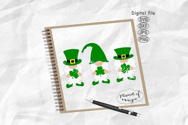 St. Patricks Day Gnome Svg, St. Patricks Day Svg,Gnome Svg