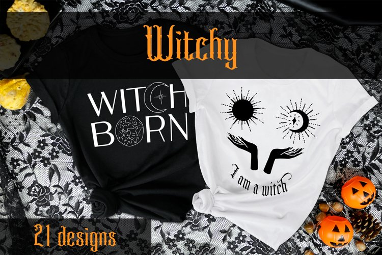 Witchy - vector illustrations