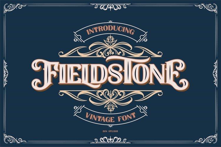 FIELDSTONE - LAYERED FONTS