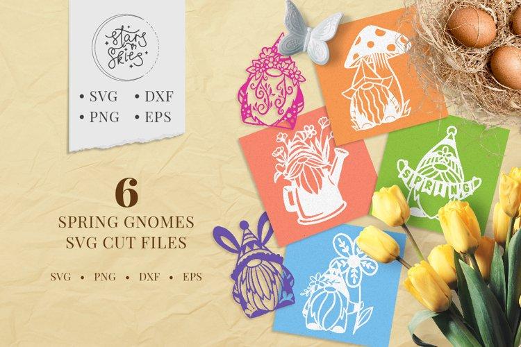Spring Gnomes SVG Cut-Files
