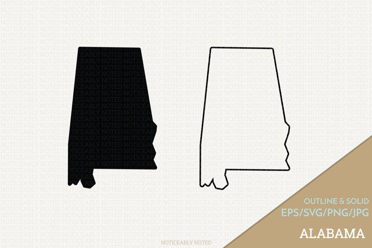 Alabama Vector / Clip Art