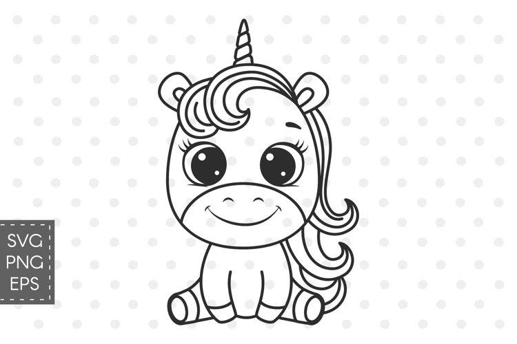 Unicorn SVG, Unicorn clipart for girls birthday or t-shirts